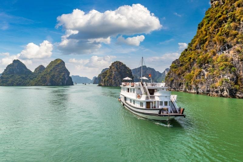 Tour di un giorno della baia di Halong da Hanoi