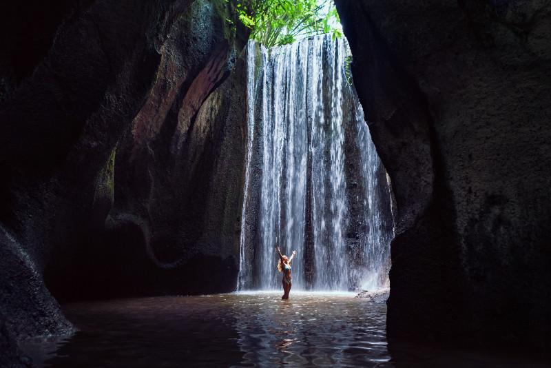 Bali Tukad Cepung Waterfall & Jungle Swing Private Day Trip