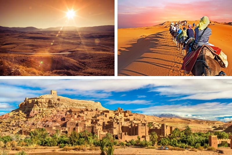 3-Day Tour: Marrakech to Merzouga by Way of Dadès Valley plus Erg Chebbi Camel Trek