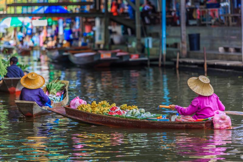 Bangkok Railway & Floating Markets Tour