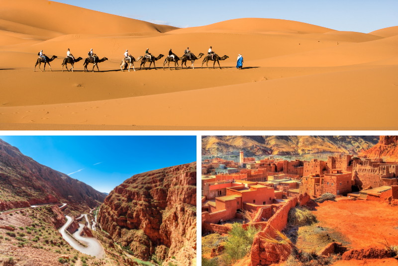 4-Day Merzouga Desert Private Trip