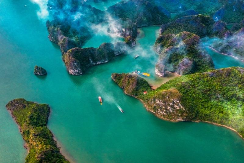 Tour di un giorno di Halong Bay Deluxe inclusi crociera, kayak e pranzo da Hanoi