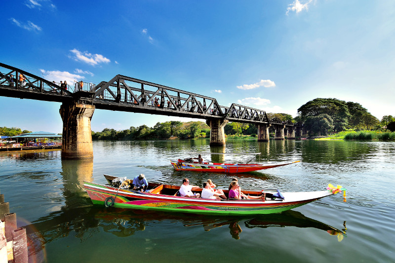 Bridge on the River Kwai and Thailand-Burma Railway Tour