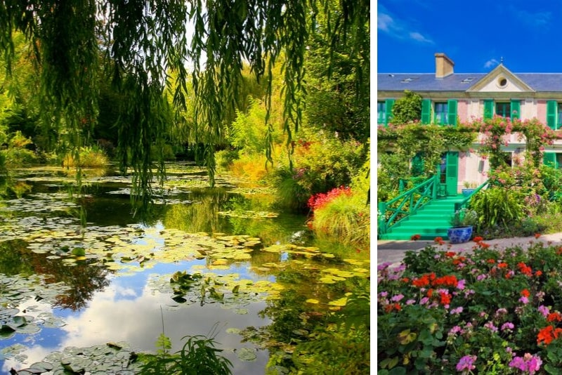 Giverny et le jardin de Monet en train