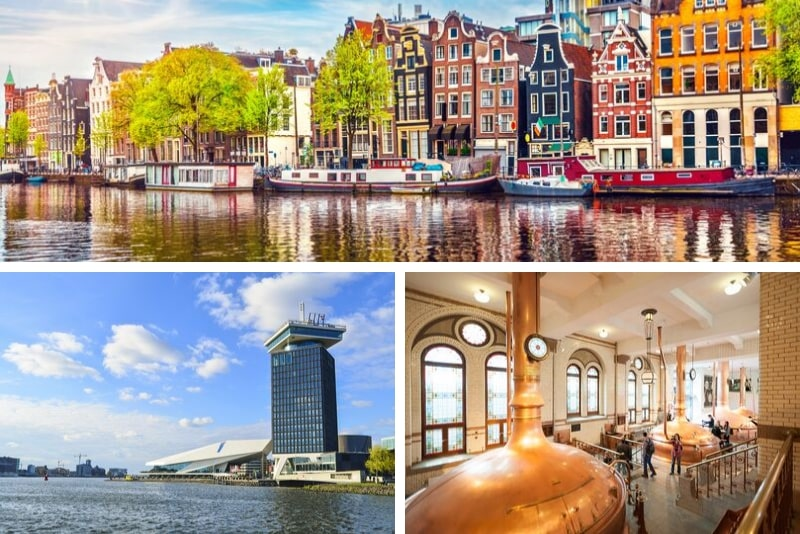 A'DAM LOOKOUT & Canal Cruise & Heineken Experience - Rock the City