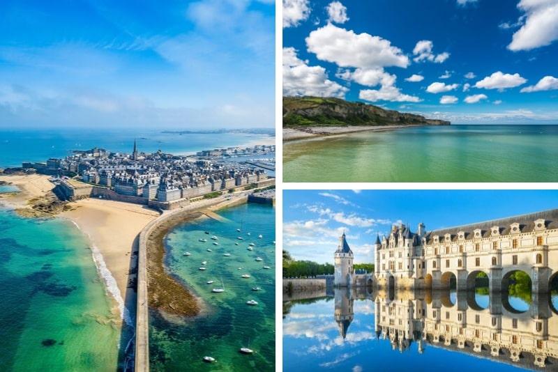 3-Days Normandy, St Malo, Mont Saint Michel & Loire Castles with Wine Tasting