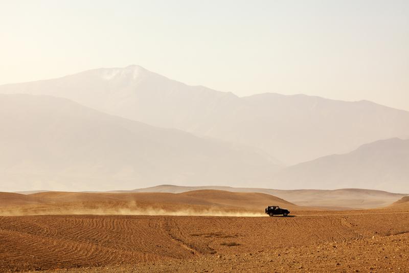 Agafay desert day trips from Marrakech