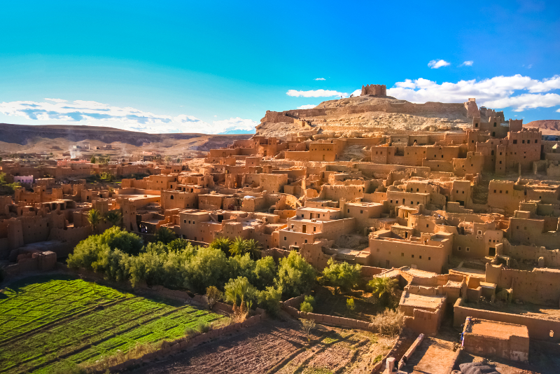 Ait Benhaddou day trips from Marrakech