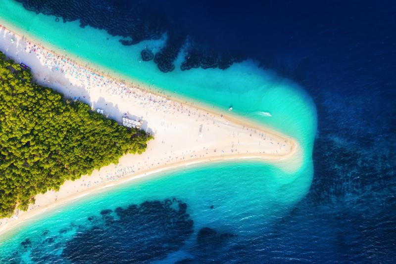 Insel Brac Tagesausflüge von Split