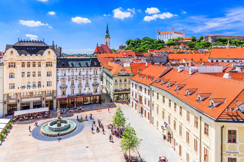 Bratislava day trips from Budapest