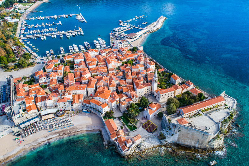Excursiones de un día a Budva desde Dubrovnik