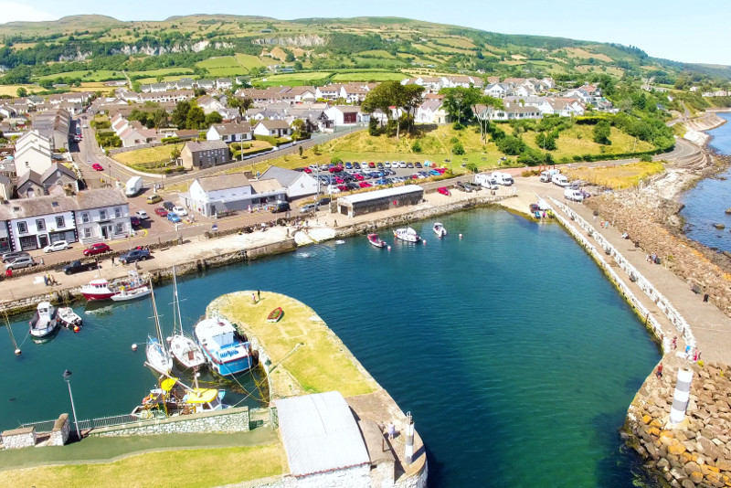 Carnlough Harbour Game of Thrones filming location
