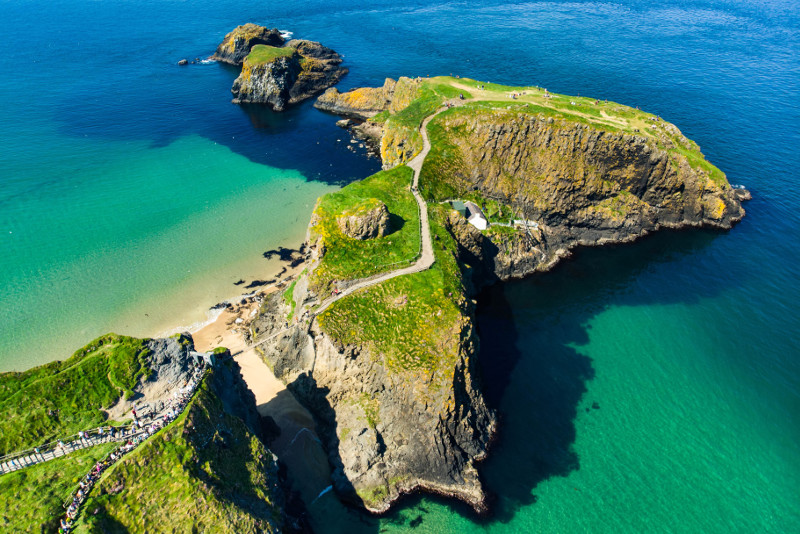 Carrick-A-Rede Rope Bridge Game of Thrones filming location