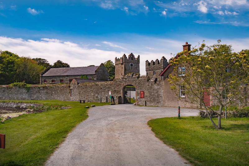 Lugar de rodaje de Castle Ward, Juego de Tronos