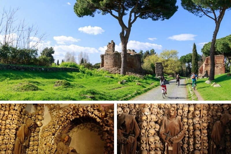 Catacombs Rome combined tickets