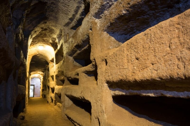Catacombs Rome travel tips