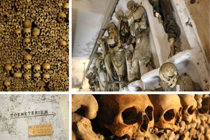 Catacombs Rome - what will you see