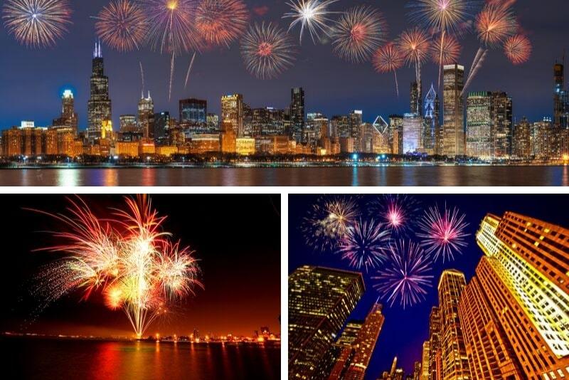 Chicago 3D Fireworks Cruise on Lake Michigan