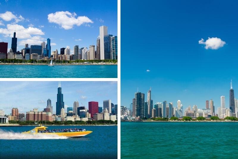 Chicago Lakefront: Half-Hour Seadog Speedboat Ride