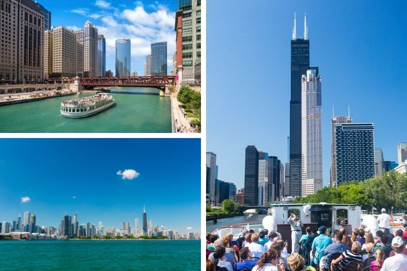 Chicago Urban Adventure River and Lake Cruise