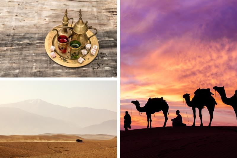 Desert Sunset Camel Ride With Free Tea in The Desert Camp