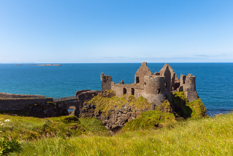 Dunluce Castle Game of Thrones filming location