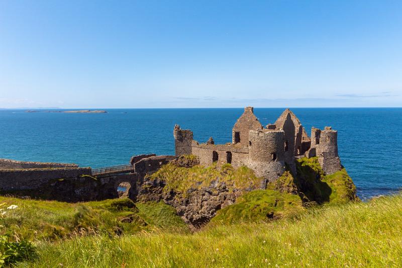 Lugar de rodaje de Juego de Tronos - Dunluce Castle