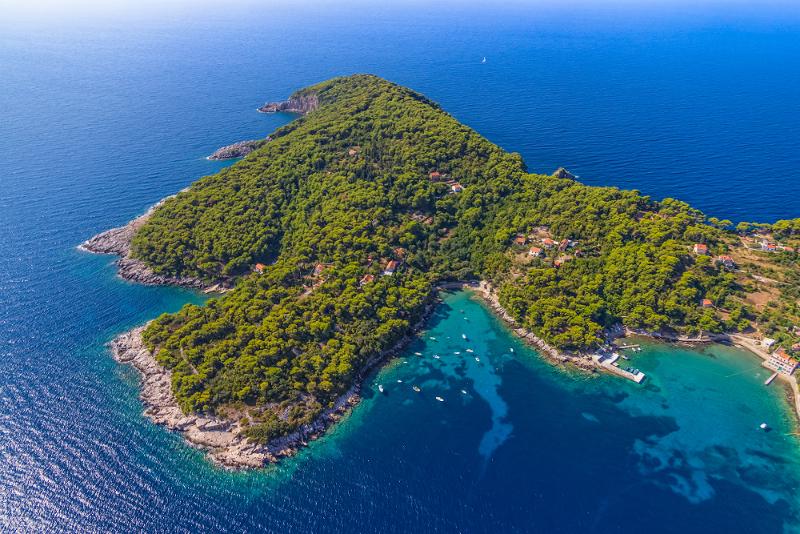 Excursiones de un día a las islas Elaphiti desde Dubrovnik