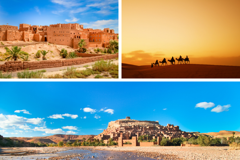 Fez through Merzouga Desert 4-Day Private Tour from Marrakech