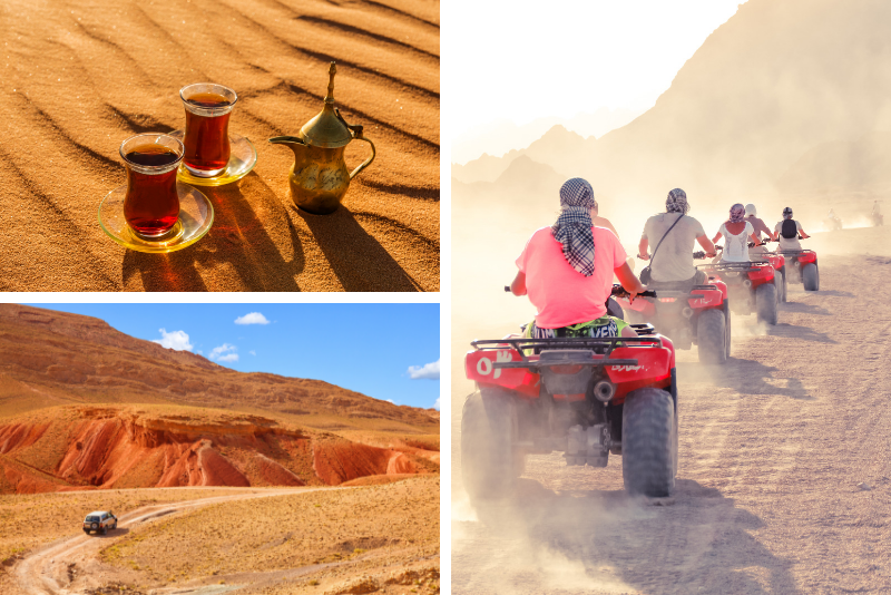 From Marrakech: Quad Biking Tour in Agafay Desert