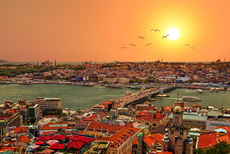 Golden Horn day trips from Istanbul
