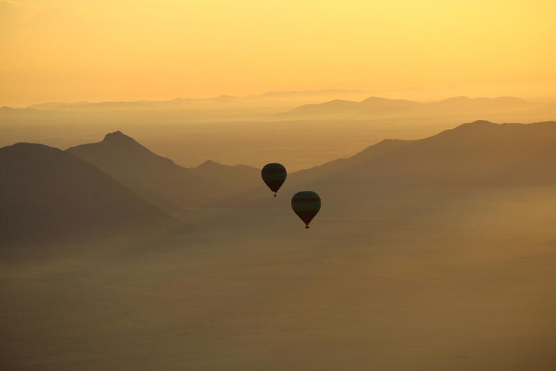 Hot Air Balloon day trips from Marrakech