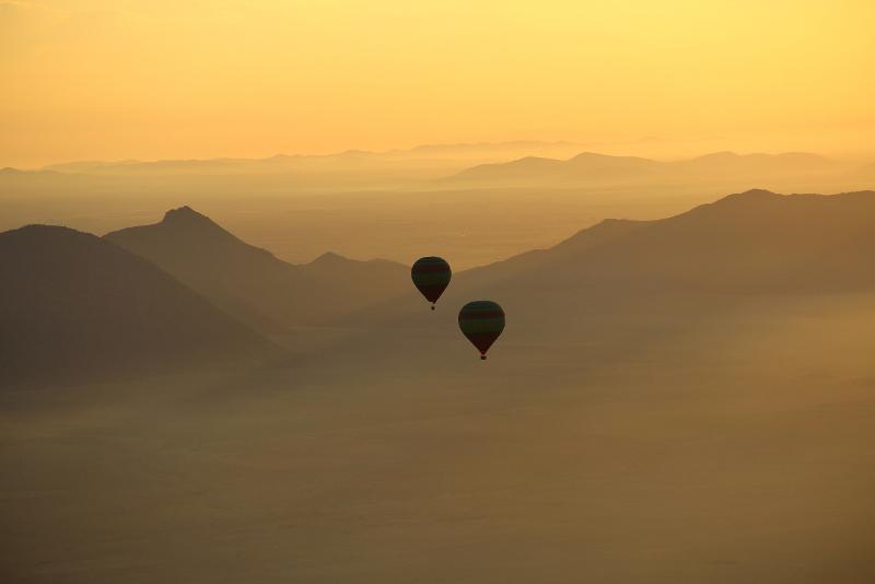 Hot Air Balloon day trips from Marrakech