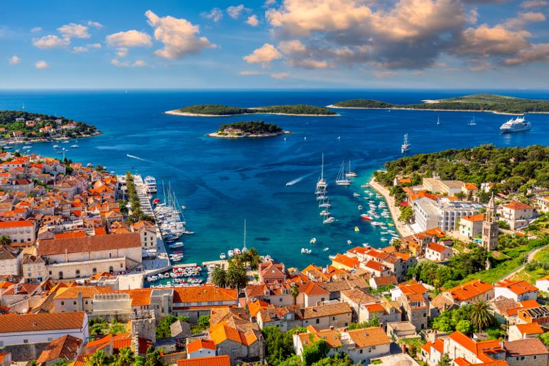 Excursiones de un día a la isla de Hvar desde Split