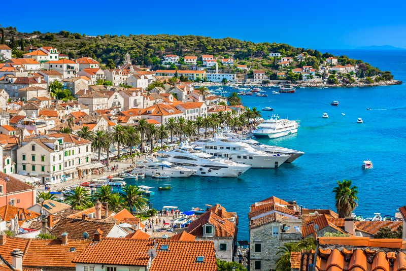 Gite di un giorno all'isola di Hvar da Dubrovnik