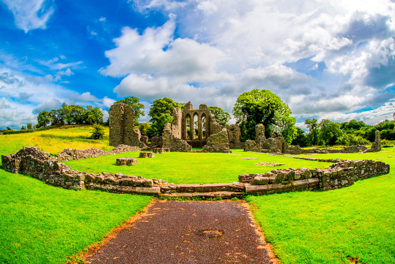 Inch Abbey Game of Thrones filming location