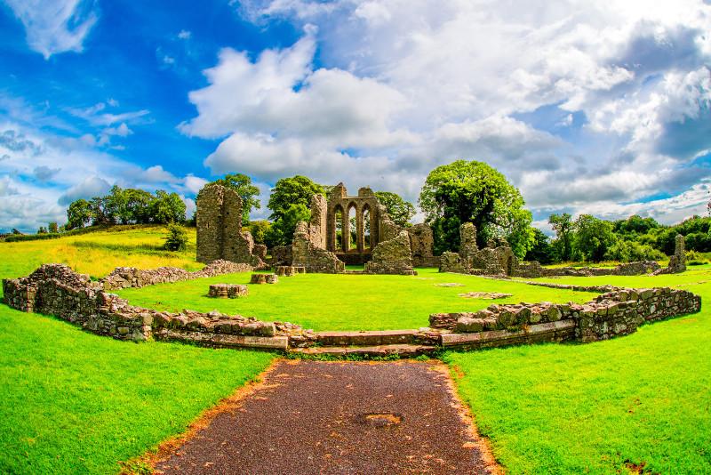 Lugar de rodaje de Inch Abbey Game of Thrones