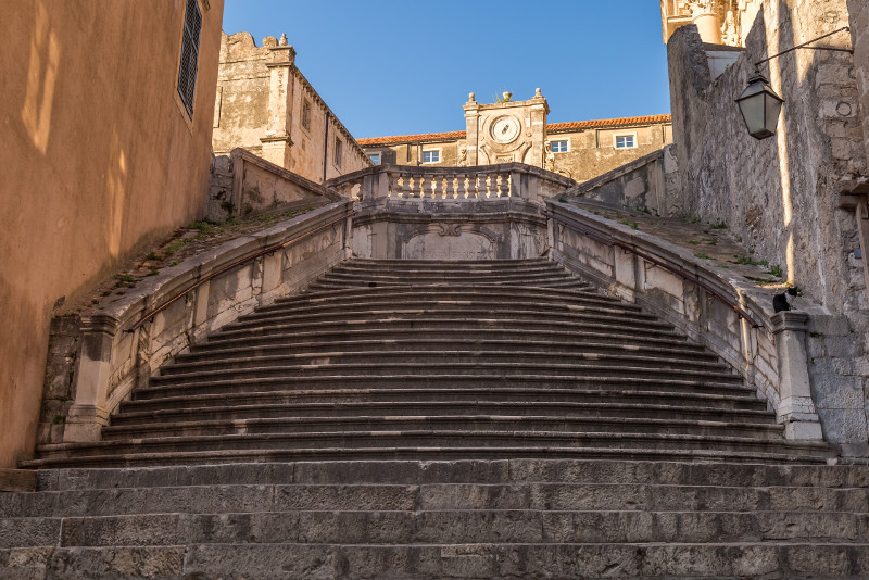 Jesuit Staircase - Game of Thrones tours in Dubrovnik
