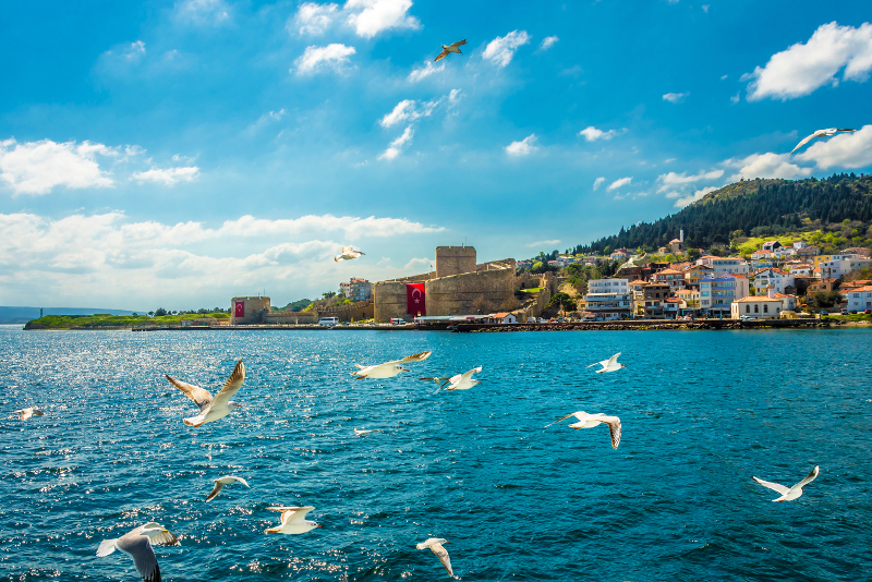 Kilitbahir Fortress day trips from Istanbul