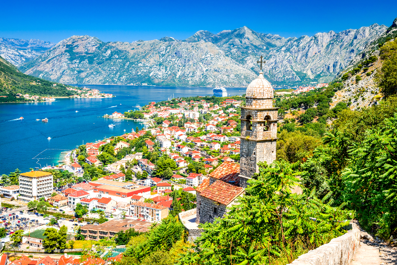 Kotor day trips from Dubrovnik