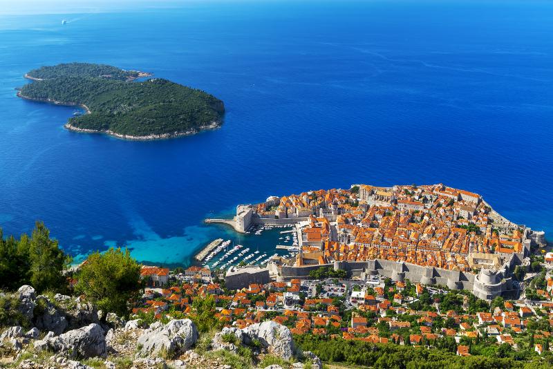 Gite di un giorno all'isola di Lokrum da Dubrovnik