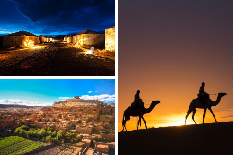 Marrakech to Fes: 3-Day Desert Tour