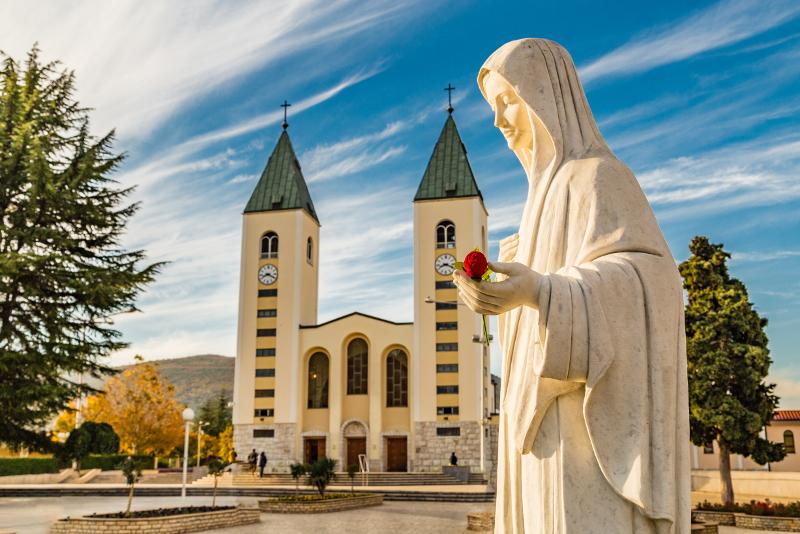 Excursiones de un día a Medjugorje desde Split