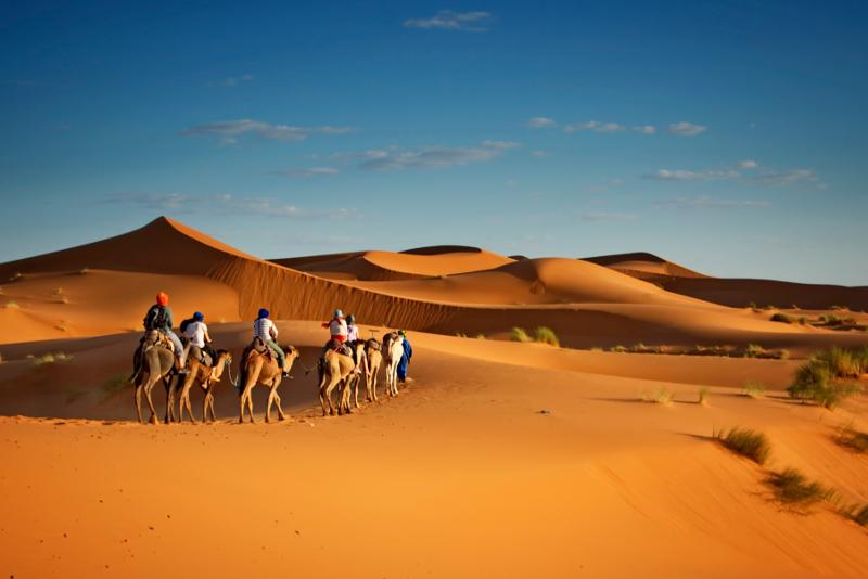 Tagesausflüge in die Merzouga-Wüste ab Marrakesch