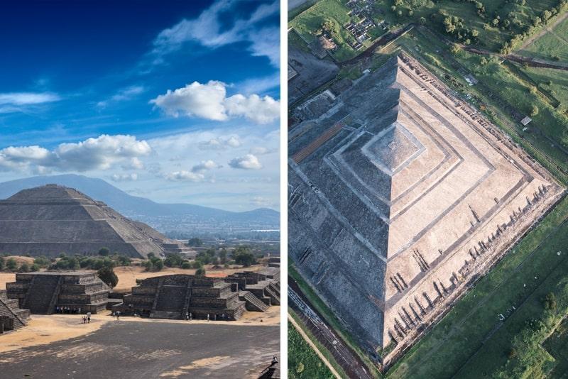 Tagesausflug zu den Pyramiden und Tempeln von Mexiko-Stadt nach Teotihuacán
