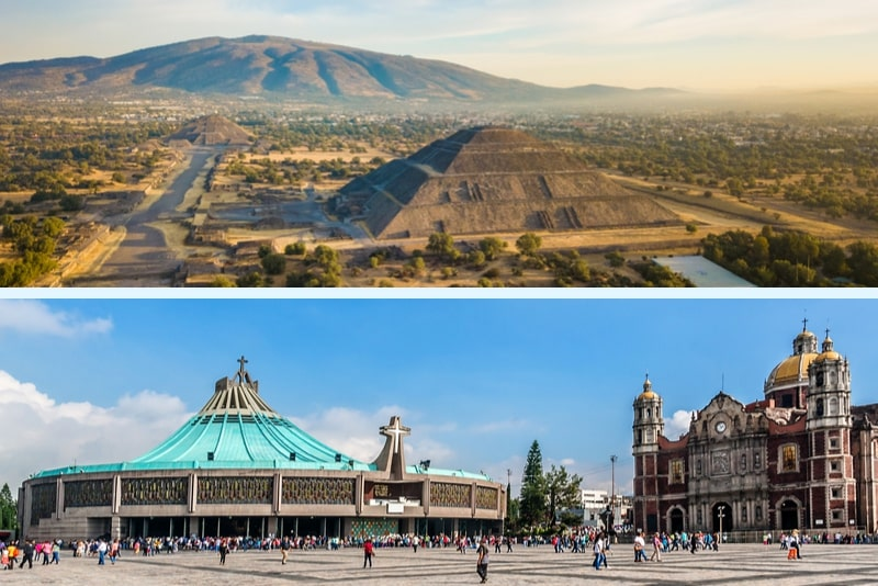 Mexico Full-Day Teotihuacan & Basilica Guadalupe Tour
