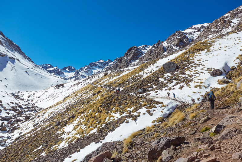 Mount Toubkal day trips from Marrakech