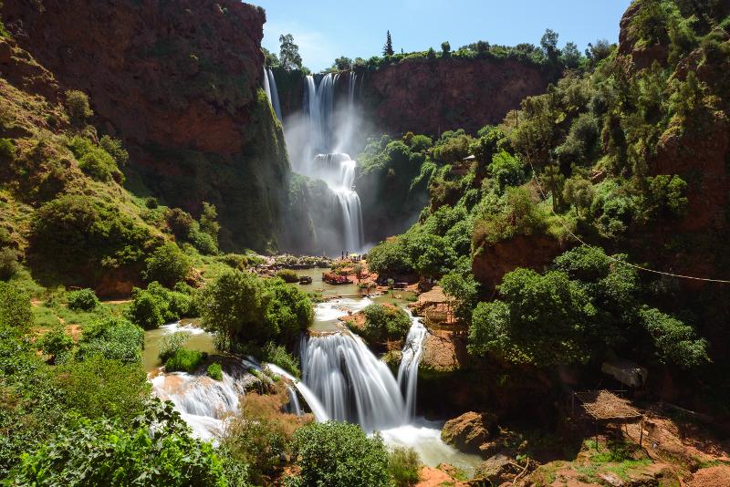 Tagesausflüge zu den Ouzoud-Wasserfällen ab Marrakesch