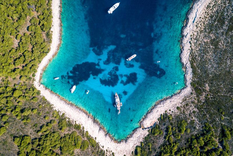 Gite di un giorno alle Isole Pakleni da Spalato