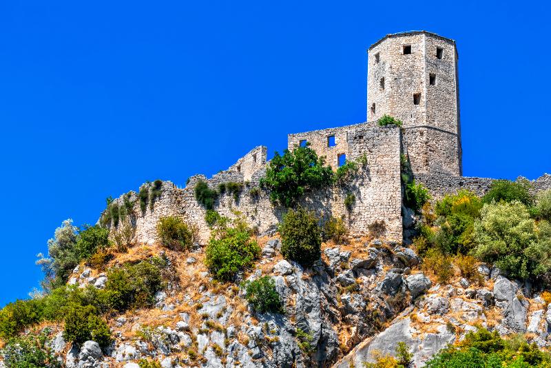 Pocitelj Castle day trips from Dubrovnik